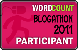 WordCount Blogathon 2011 Participant Badge